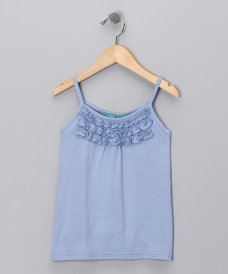 Arctic Ruffle Tank - Toddler & Girls