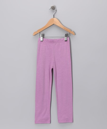 Plum Leggings - Toddler & Girls