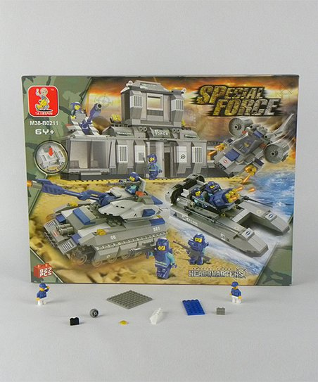 Special Force Headquarters Blocks Set