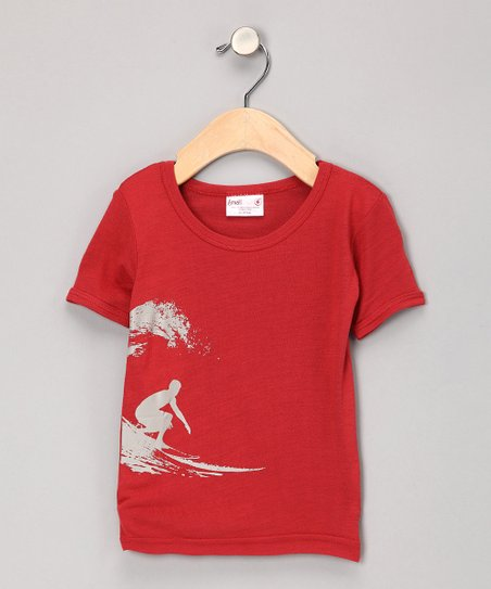 Cranberry Surfer Organic Tee