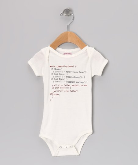 Natural Code Organic Bodysuit - Infant