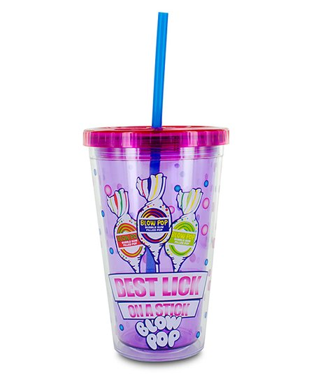 Pink Blow Pop Cold Cup