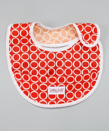 Fire Engine Crumb Catcher Bib