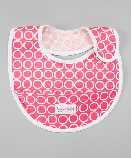 Honeysuckle Rose Crumb Catcher Bib
