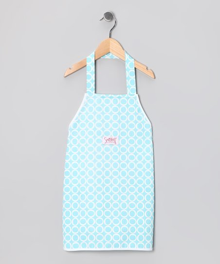 Robin's Egg Cook With Me Apron - Adult & Kids