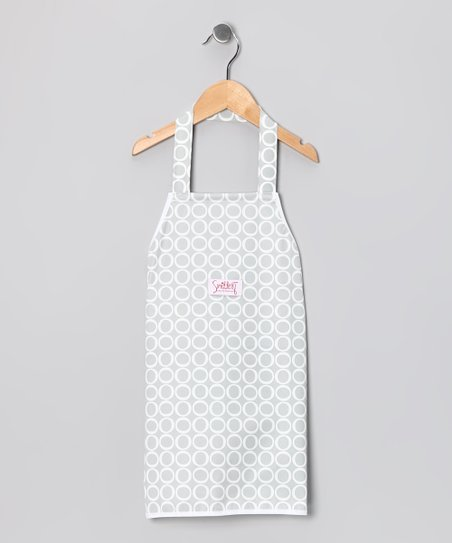 Silver Cloud Cook With Me Apron - Adult & Kids