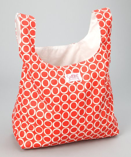 Fire Engine Chic Grocer Bag