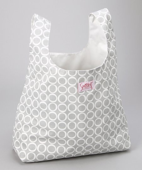 Silver Cloud Chic Grocer Bag