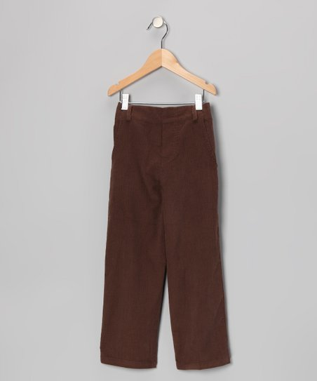 Brown Corduroy Pants - Infant & Boys