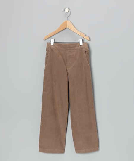 Khaki Corduroy Pants - Infant, Toddler & Boys