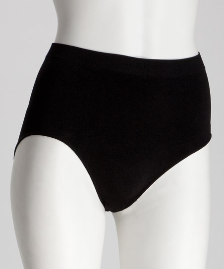 Black Shaper Briefs