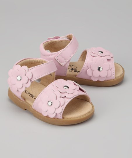 Pink Triple Flower Sandal
