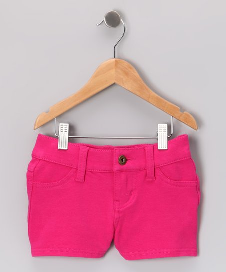 Hot Pink Terry Shorts