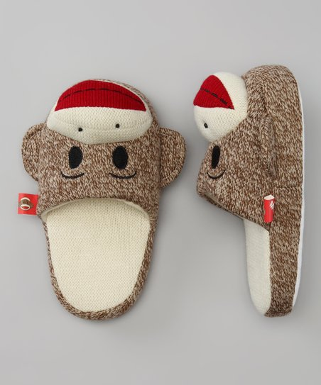 Street-Player Maxx the Sock Monkey Slippers