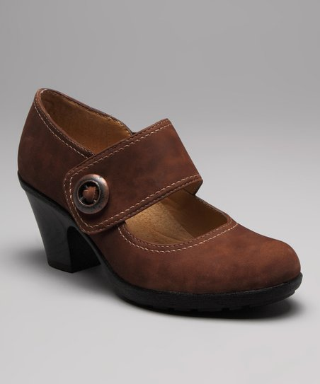 Mocha Cassidy Mary Jane Pump