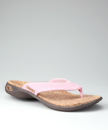 Lighter Pink Blossom Casual Flip-Flop - Women