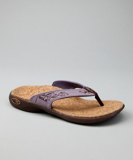 Cantina Lilac Casual Flip-Flop