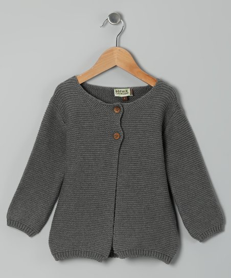 Husky Heavy Gauge Cardigan - Toddler & Girls