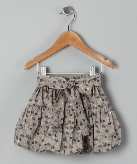 Beige Vitella Skirt - Toddler & Girls