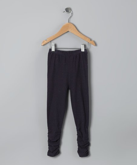 Midnight Ruched Leggings - Infant, Toddler & Girls