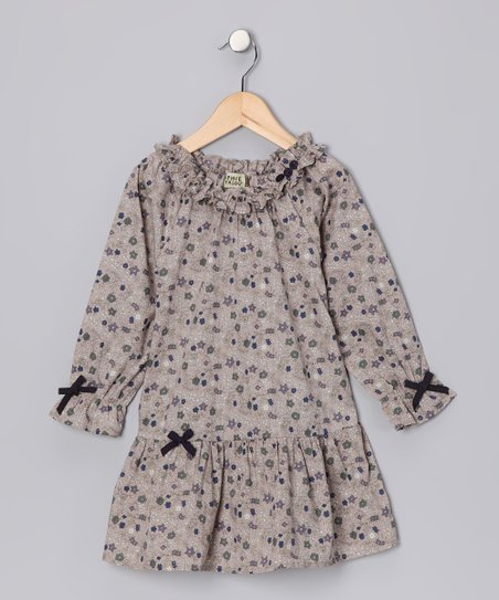 Beige Morgan Dress - Toddler & Girls