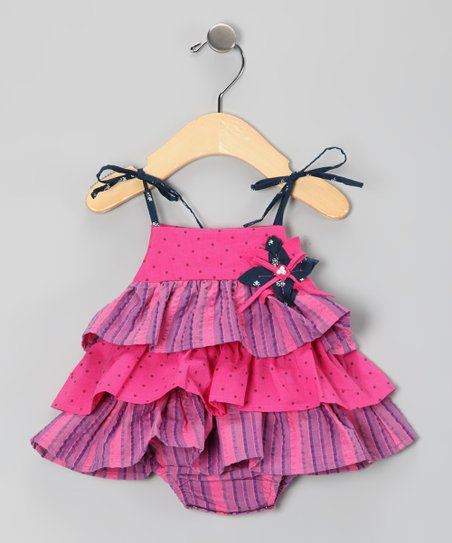 Bubblegum Viviene Skirted Bodysuit - Infant