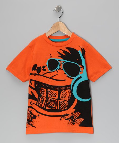 Orange Gorilla Tee - Toddler & Boys