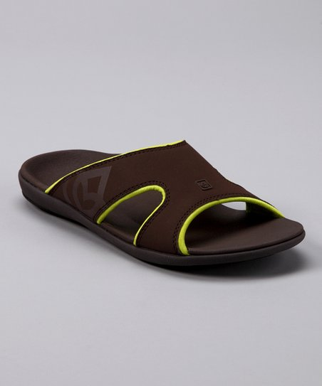 Chocolate & Mineral Green Total Support Kholo Slide