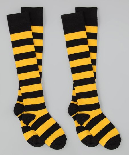 Pittsburgh Steelers Colors Knee-High Socks Set