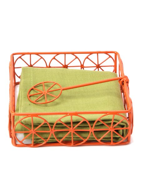 Citrus Sun Napkin Holder