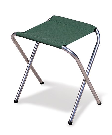 Green Folding Camp Stool