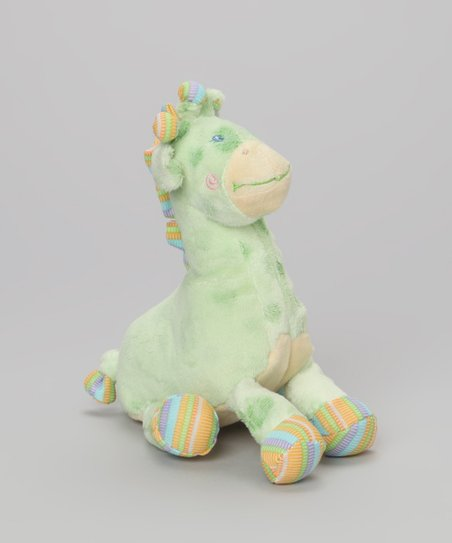 Light Green Giraffe Plush Toy
