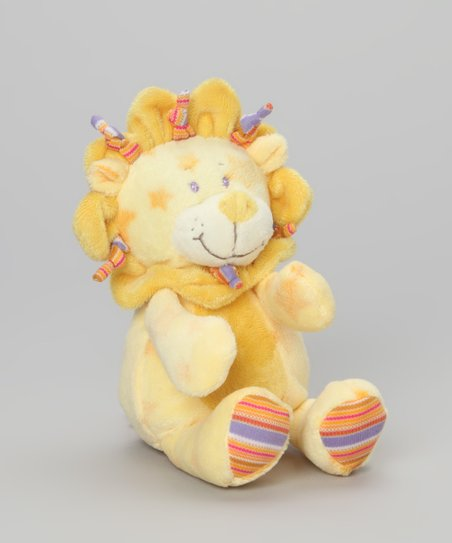 Yellow Lion Plush Toy