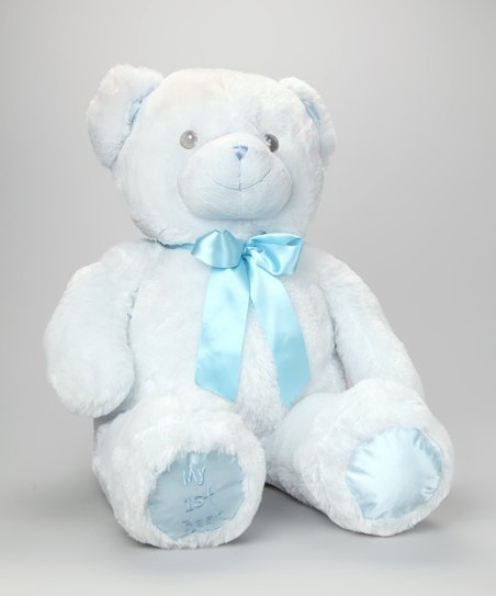 Blue My First Bear 30'' Plush Toy