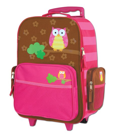 Owl Rolling Luggage