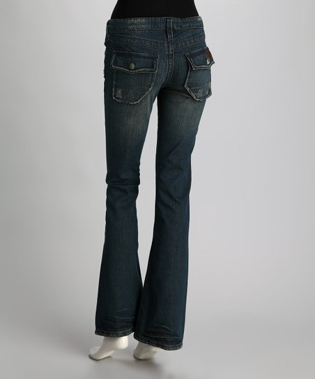 Crow Chekore Flare Jeans