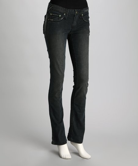 Dark Holster Seminole Straight-Leg Jeans
