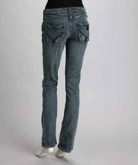 Hawk Seminole Straight-Leg Jeans