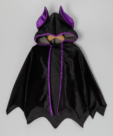 Black Bat Cape - Kids
