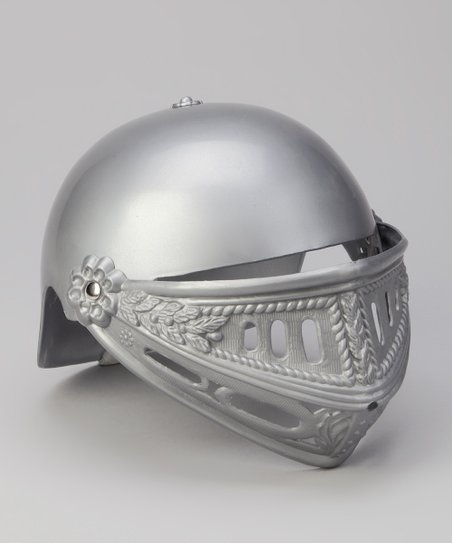 Gray Knight Helmet