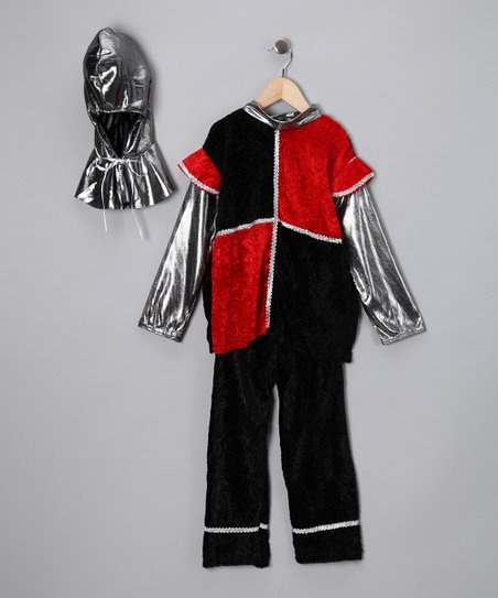 Black & Red Knight Dress-Up Set - Toddler & Kids