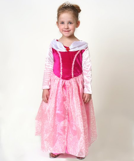 Pink Princess Dress - Toddler & Girls