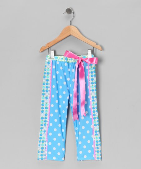 Blueberry Muffin Leggings - Girls