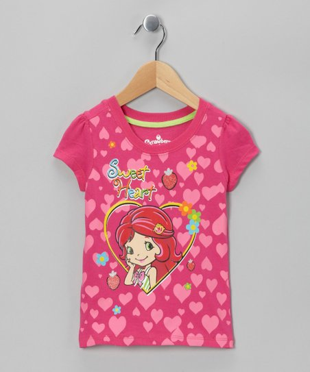 Fuchsia 'Sweet Heart' Tee - Toddler