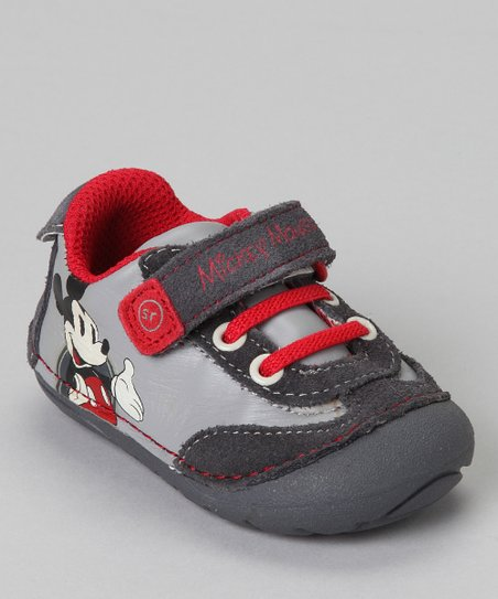 Gray Mickey Mouse Shoe