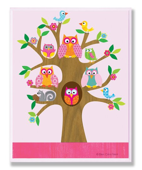 Owl & Bird Wall Art