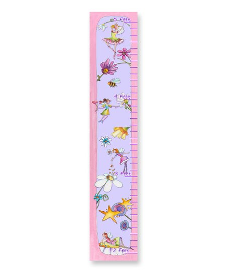 Flower Patch & Fairies Growth Chart