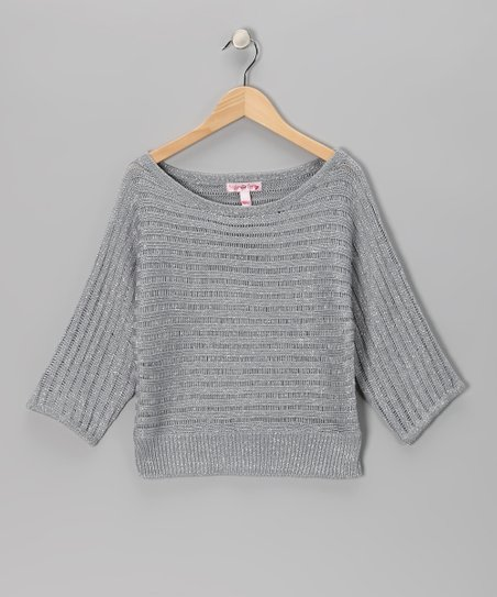 Silver Sparkle Sweater