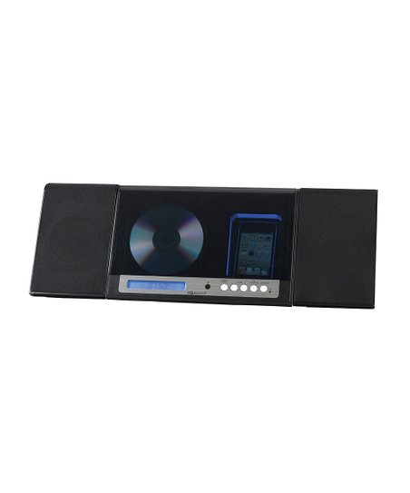 Black Stereo System for iPod/iPhone