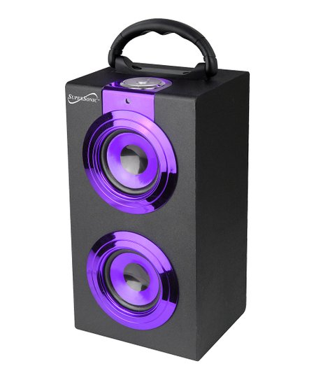Purple Portable Bluetooth Speaker